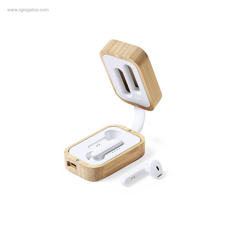 Auriculares-inalámbricos-bambú-RG-regalos