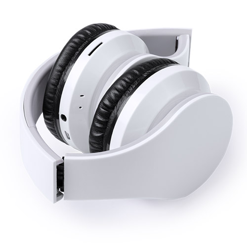 Auriculares plegables alta gama blancos - RGregalos