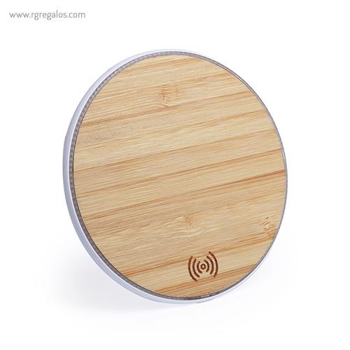 Cargador-inalámbrico-de-bambú-RG-regalos-promocionales