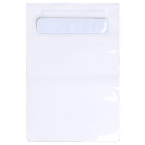 Funda PVC Tableta impermeable blanca - RGregalos publicitarios
