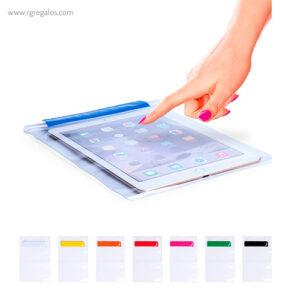 Funda PVC tableta impermeable - RG regalos publicitarios
