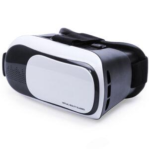 Gafas realidad virtual ajustables blancas - RGregalos