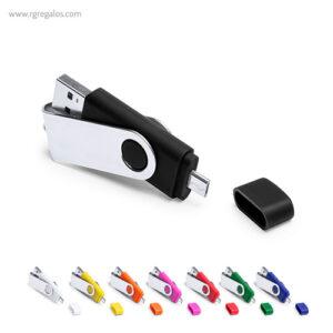 MEMORIA USB 8 GB CONEXIÓN MICRO- RG regalos publicitarios
