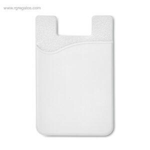 Tarjetero de silicona blanco - RG regalos publicitarios