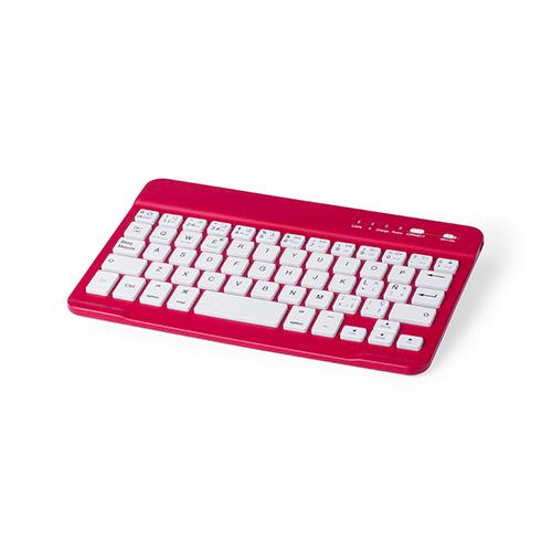 Teclado inalámbrico colores rojo - RGregalos publicitarios