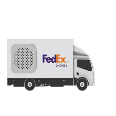 Altavoz formas personalizadas camión - RG regalos