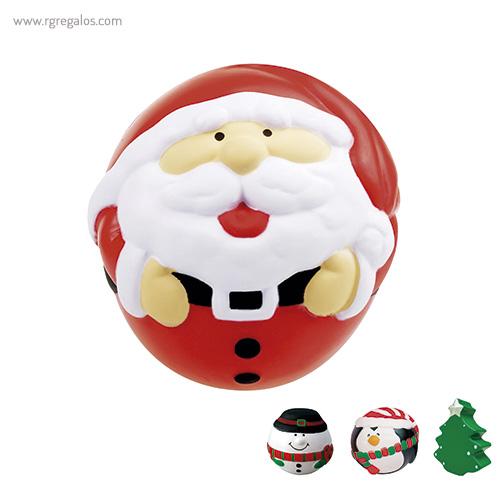 Antiestrés navidad personalizado - RG regalos publicitarios