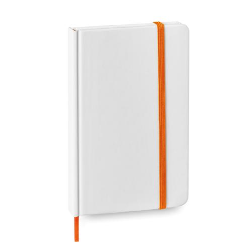 Bloc Notas portada rígida naranja Rgregalos