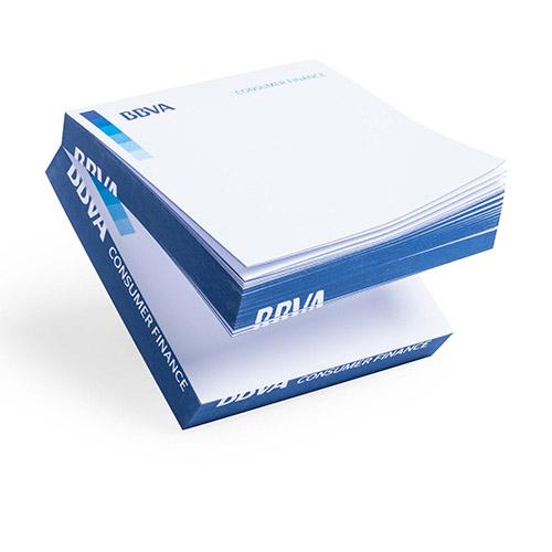 Taco de notas 250 hojas azul - RG regalos publicitarios