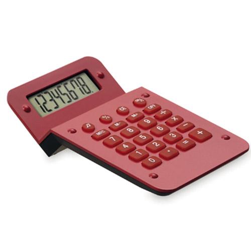 Calculadora sobremesa roja - RGregalos