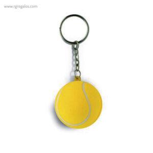 LLaveros antiestrés balones tenis - RG regalos publicitarios