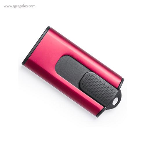Memoria USB Aluminio 8 GB roja - RG regalos publicitarios