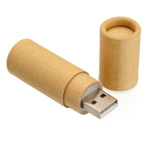 Memoria USB Cartón Recicaldo - RGregalos
