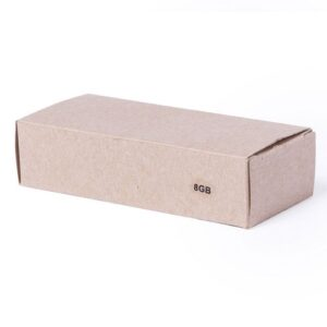 Memoria USB Cartón Recicaldo caja - RGregalos