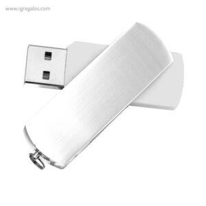 Memoria USB acabado mate blanco - RG regalos publicitarios