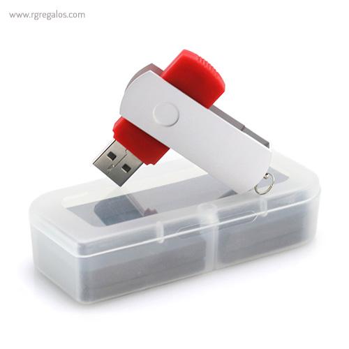 Memoria USB acabado mate presentación - RG regalos publicitarios