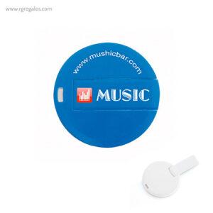 Memoria USB diseño circular RG regalos publicitarios