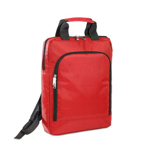 Mochila poliéster 840D roja RGregalos