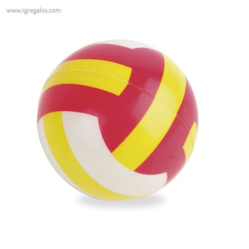 Pelota antiestrés voleibol - RG regalos publicitarios