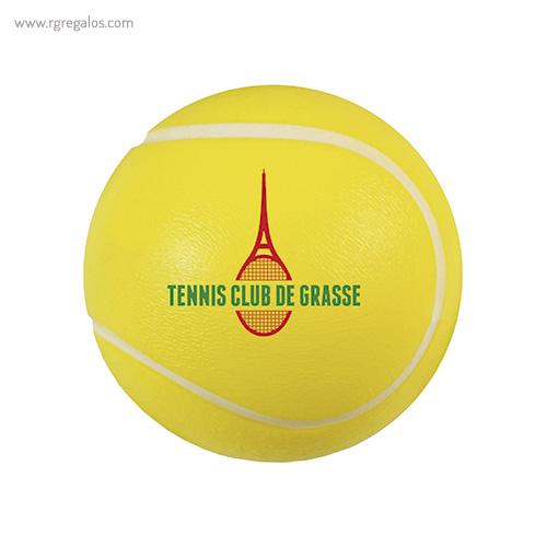 Pelota tenis antiestrés - RG regalos publicitarios