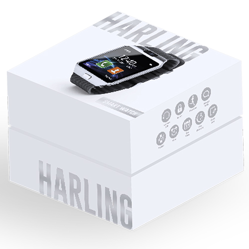 Reloj inteligente con cámara caja RGregalos