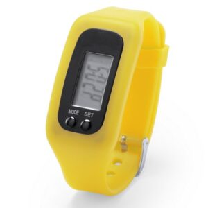 Reloj inteligente correa silicona amarillo RGregalos