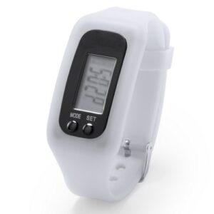Reloj inteligente correa silicona blanco RGregalos