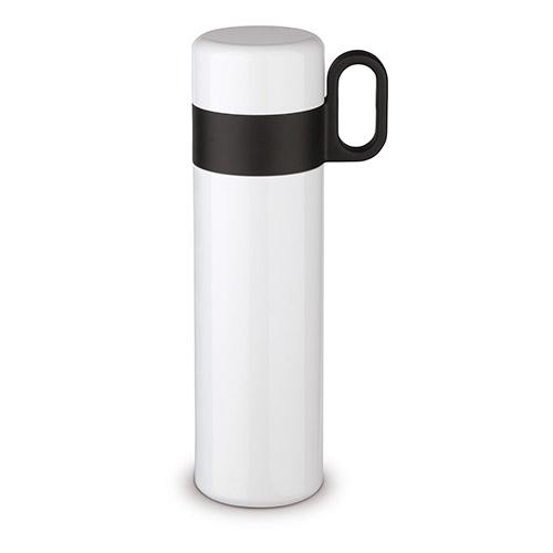 Termo doble capa 500 ml blanco - RGregalos