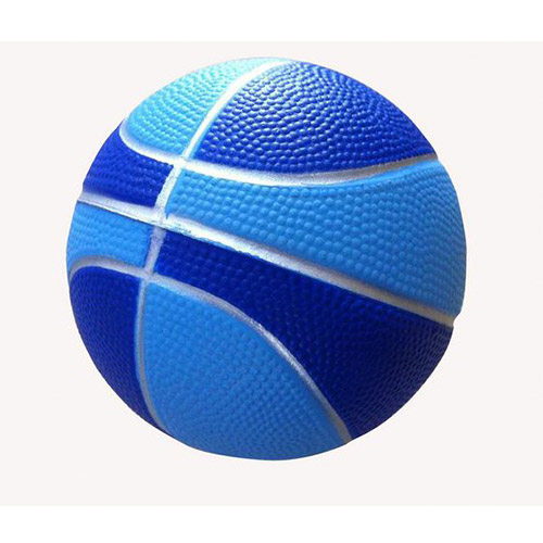 antiestrés pelota baloncesto-azul RGregalos