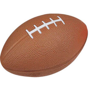 antiestrés pelota rugby marrón RGregalos
