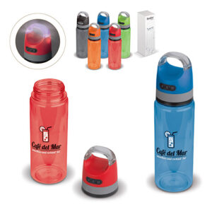 botella con altavoz inalambrico detalles - Rgregalos
