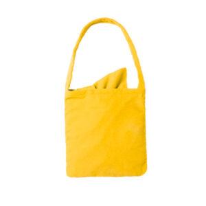 Bolsa toalla microfibra amarilla - RGregalos