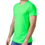 Camiseta poliéster colores flúor - RGregalos publicitarios