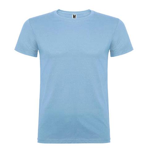 Camiseta 100% algodón manga corta 155 gr azul cielo - RGregalos