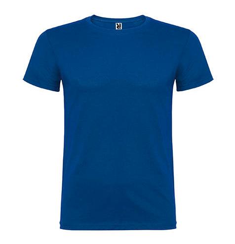 Camiseta 100% algodón manga corta 155 gr azul medio- RGregalos