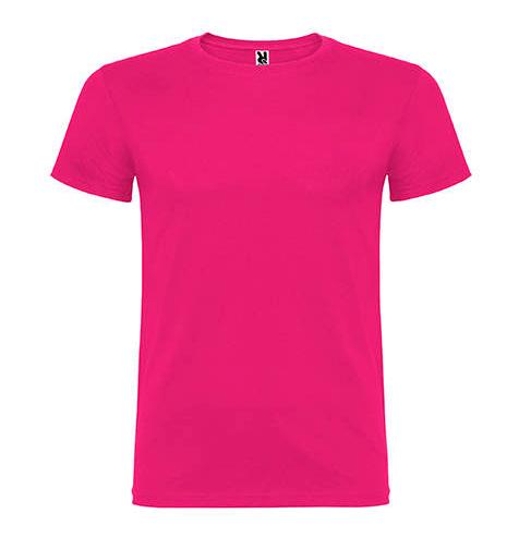 Camiseta 100% algodón manga corta 155 gr fucsia - RGregalos