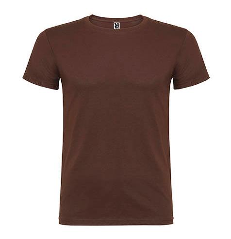 Camiseta 100% algodón manga corta 155 gr marrón - RGregalos