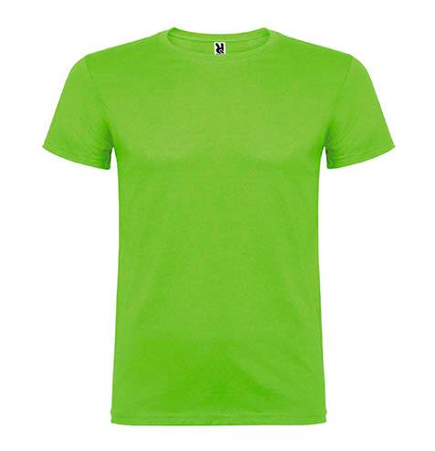 Camiseta 100% algodón manga corta 155 gr pistacho - RGregalos