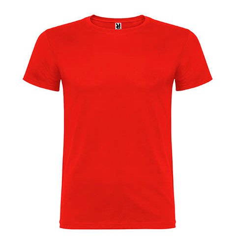Camiseta 100% algodón manga corta 155 gr roja - RGregalos