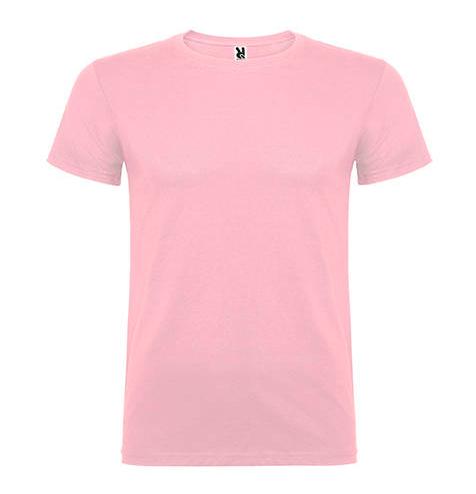 Camiseta 100% algodón manga corta 155 gr rosa - RGregalos