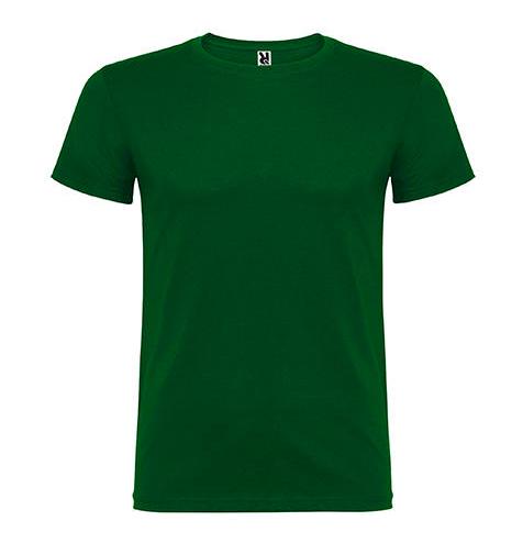Camiseta 100% algodón manga corta 155 gr vede oscuro - RGregalos