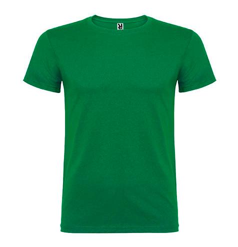 Camiseta 100% algodón manga corta 155 gr verde - RGregalos