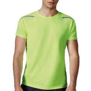 Camiseta técnica detalles reflectantes - RGregalos
