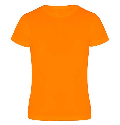 Camiseta técnica manga corta 135 gr narnaja - RGregalos