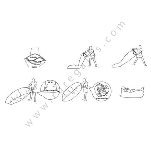 Colchón hinchable rápido instrucciones - RG regalos publicitarios