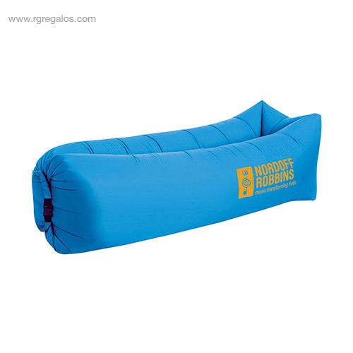 Colchón hinchable rápido azul - RG regalos de empresa