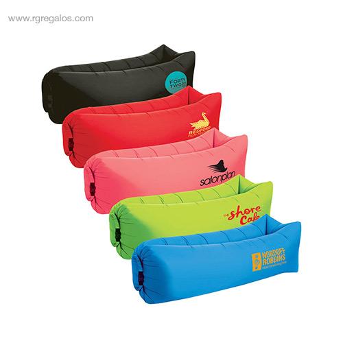 Colchón hinchable rápido colores - RG regalos de empresa
