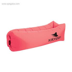 Colchón hinchable rápido rosa - RG regalos de empresa