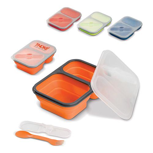 Fiambrera de silicona colores - RGregalos