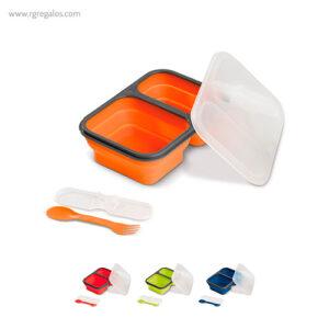 Fiambrera de silicona plegable - RG regalos publicitarios